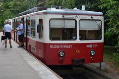 Budapest Schwabenbergbahn