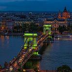 Budapest - Széchenyi Kettenbrücke