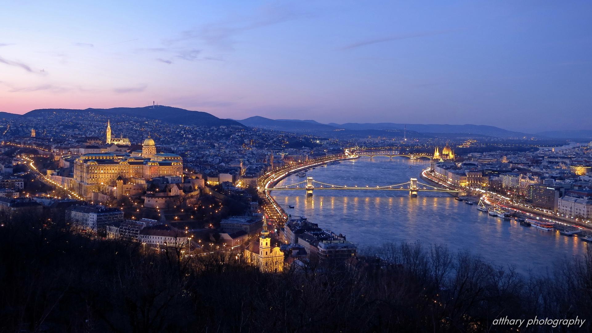 Budapest vom Gellért-Berg