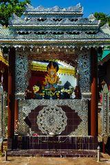 Buddha Altar in Wat Si Bun Rueang