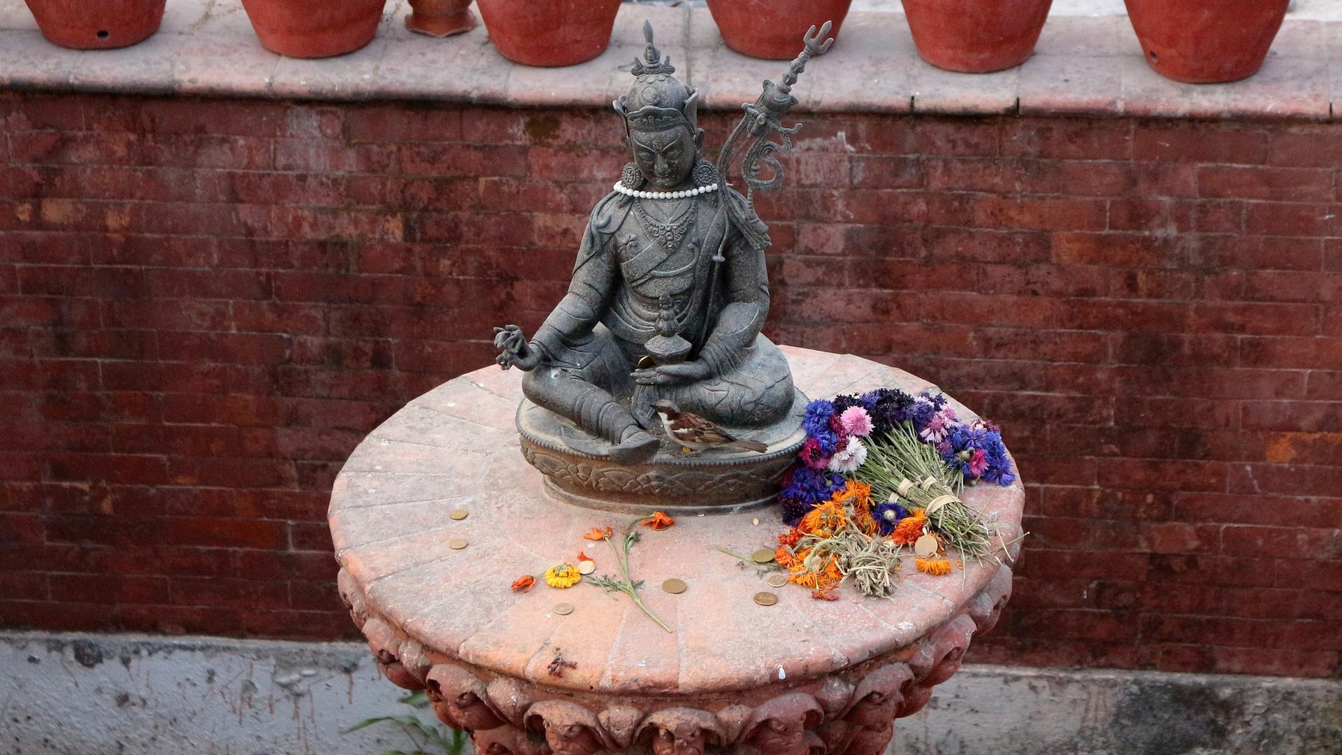 Buddha bei die Blümsche