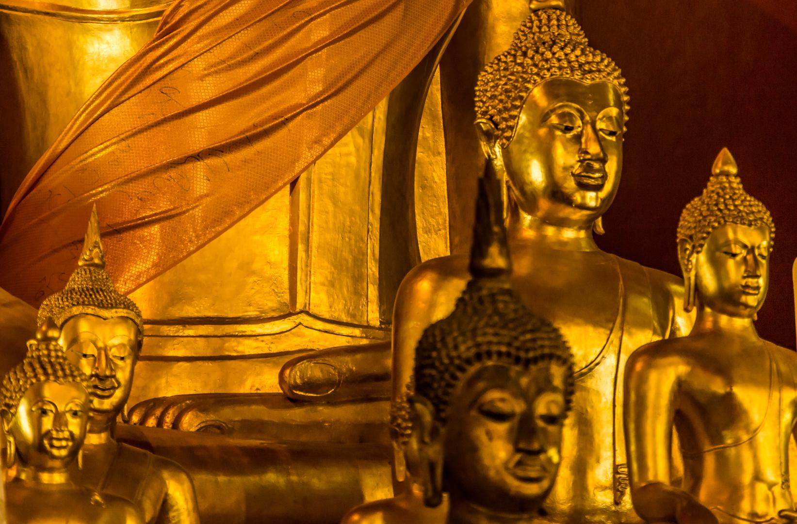 Buddha I - Tempel in Chiang Mai/Nordthailand