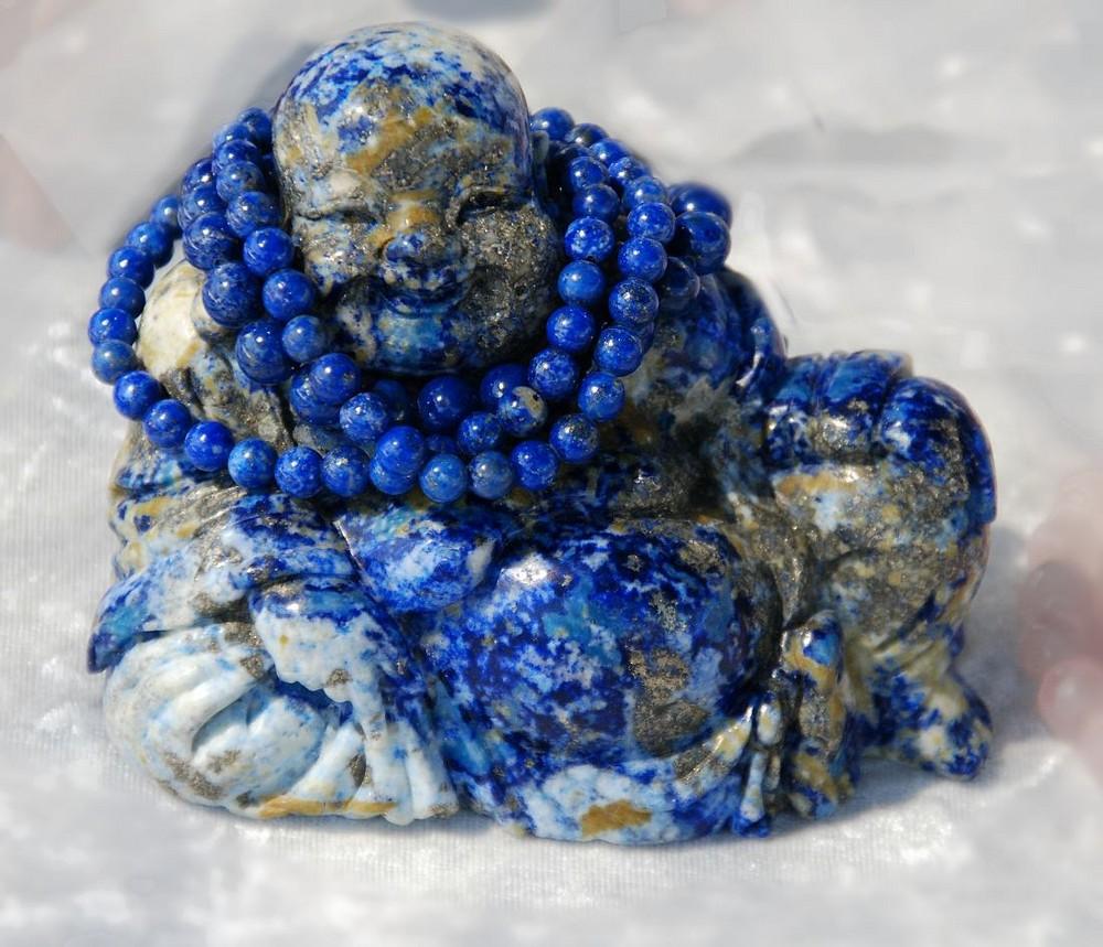 Buddha in blau
