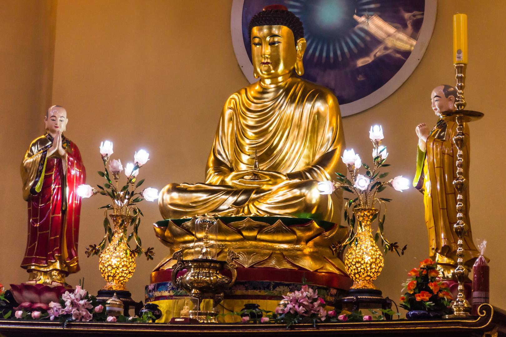 Buddha in Vien Giac - Hannover-Mittelfeld