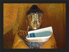 Buddha lächelt