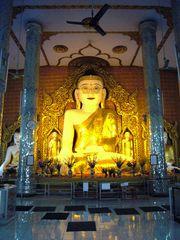 Buddha mit Brille.