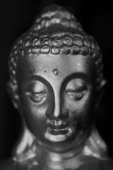 Buddha Monochrom