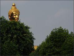 Buddha sieht alles ...