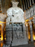 Buddha-Stupa, Ajanta Cave No. 26