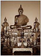 Buddhas - Wat Pho, Bangkok
