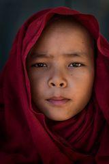 buddhistischer Mönch (2)- Novize