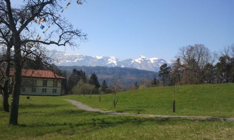 Budhist Monastery, Buchholz in Austria,2014
