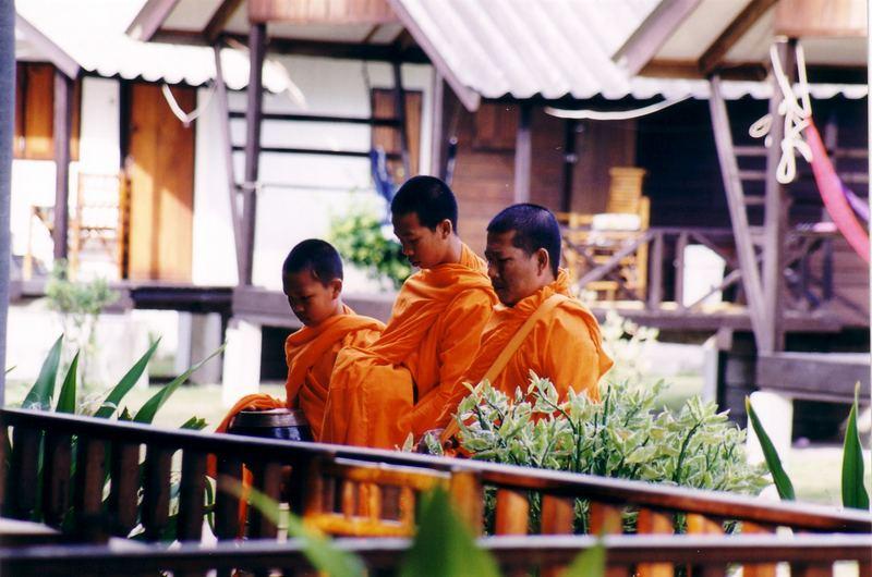 Budistische Mönche