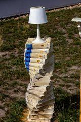 Bücher-Lampe