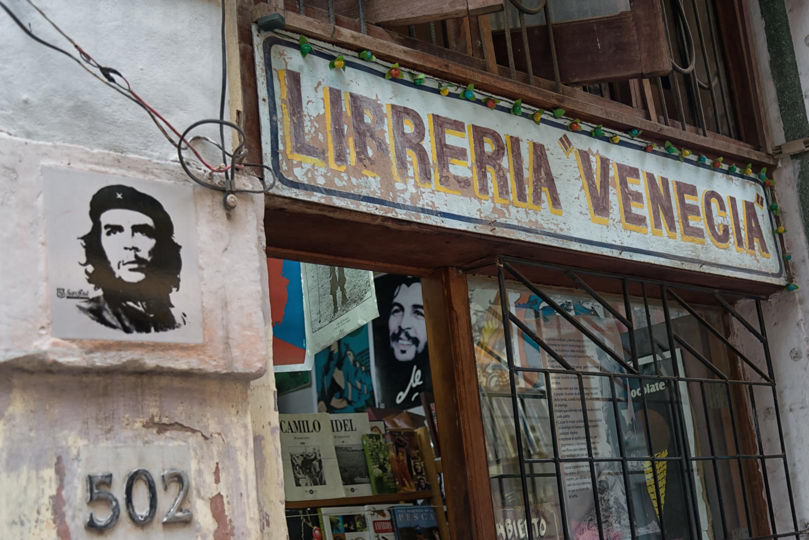 Bücherladen in Havanna