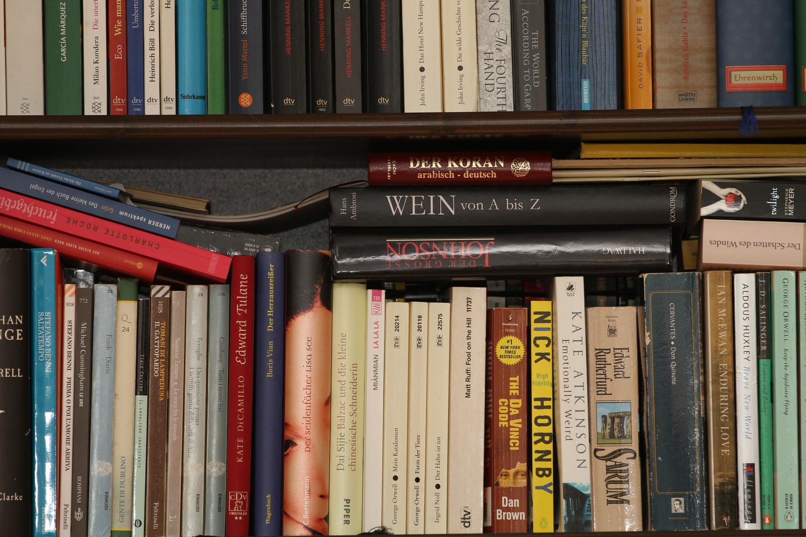 Bücherwurm-Buffet