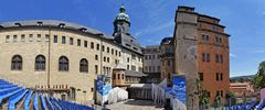 Bühne der Schlossfestspiele Sondershausen