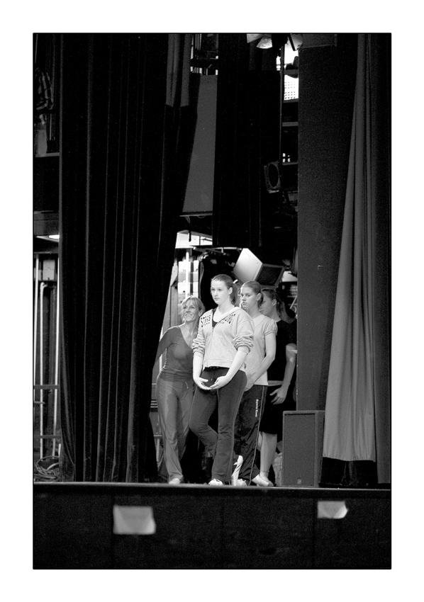 Bühnenluft schnuppern