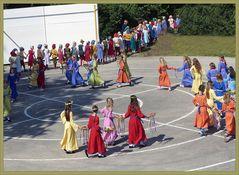 Bürgerfest  Kinder beim Tanzen