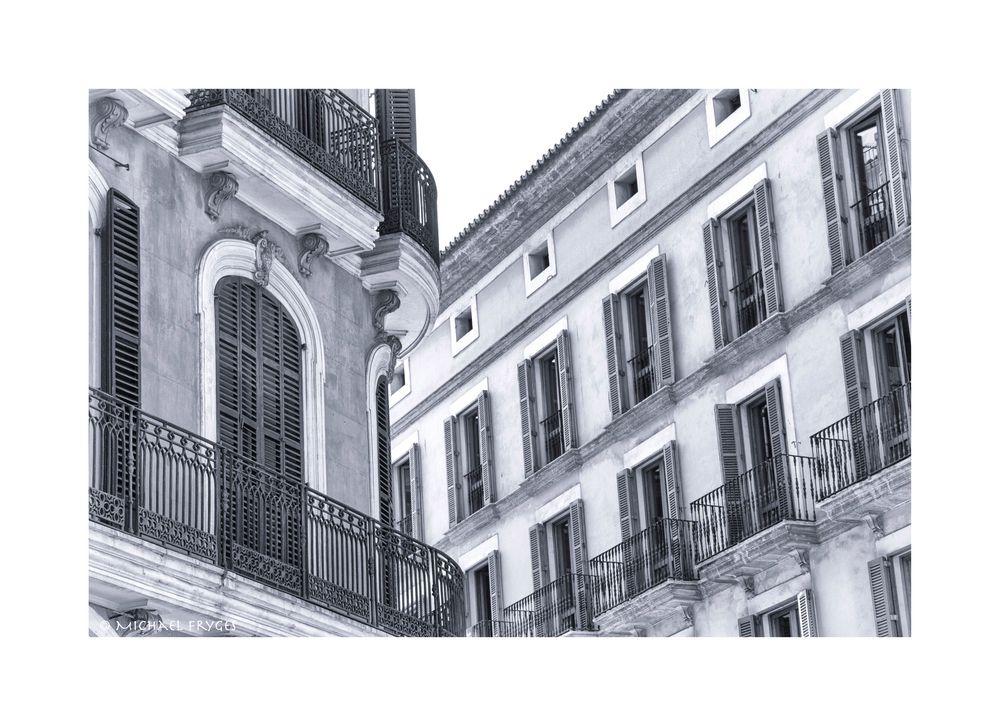 Bürgerhäuser in Palma........