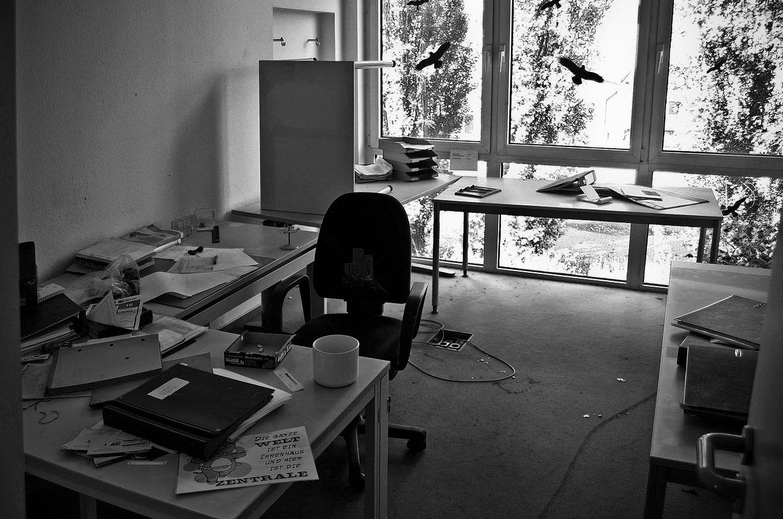 Büro 2004 verlassen ...