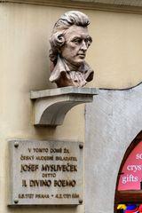 Büste Josef Myslivecek