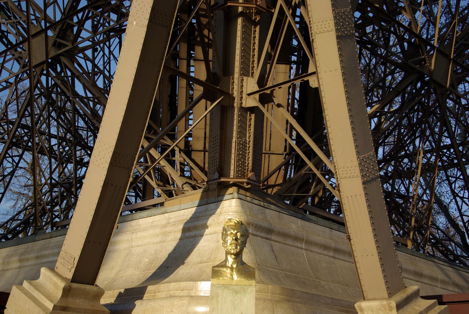 Büste von Alexandre Gustave Eiffel