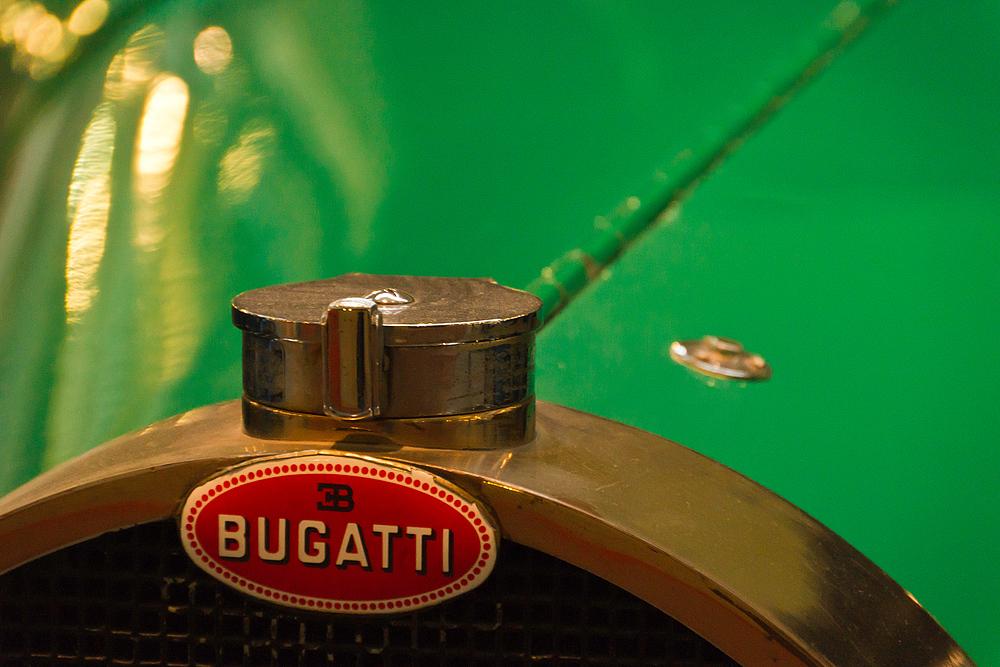 Bugatti grün