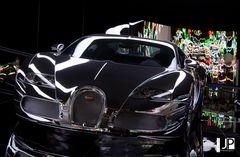 Bugatti in Chrome