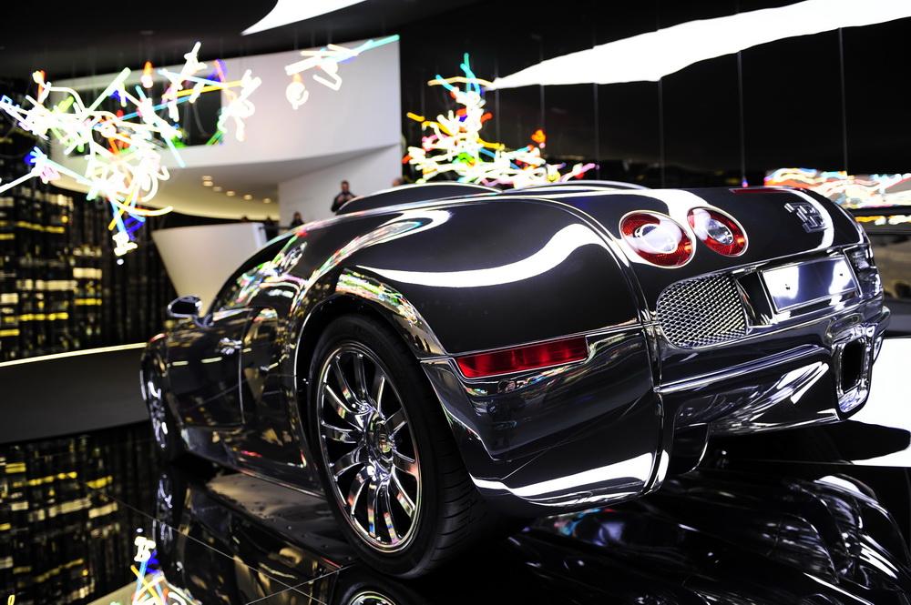 Bugatti in der Autostadt Wolfsburg