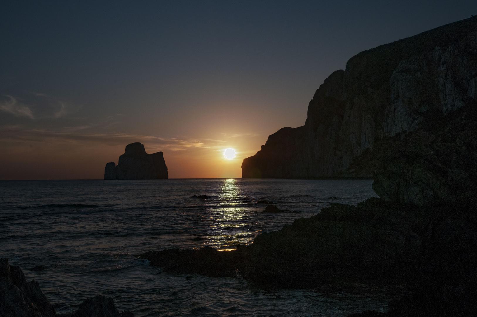 Bugerru al tramonto
