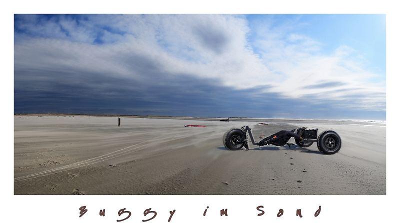 Buggy am Strand