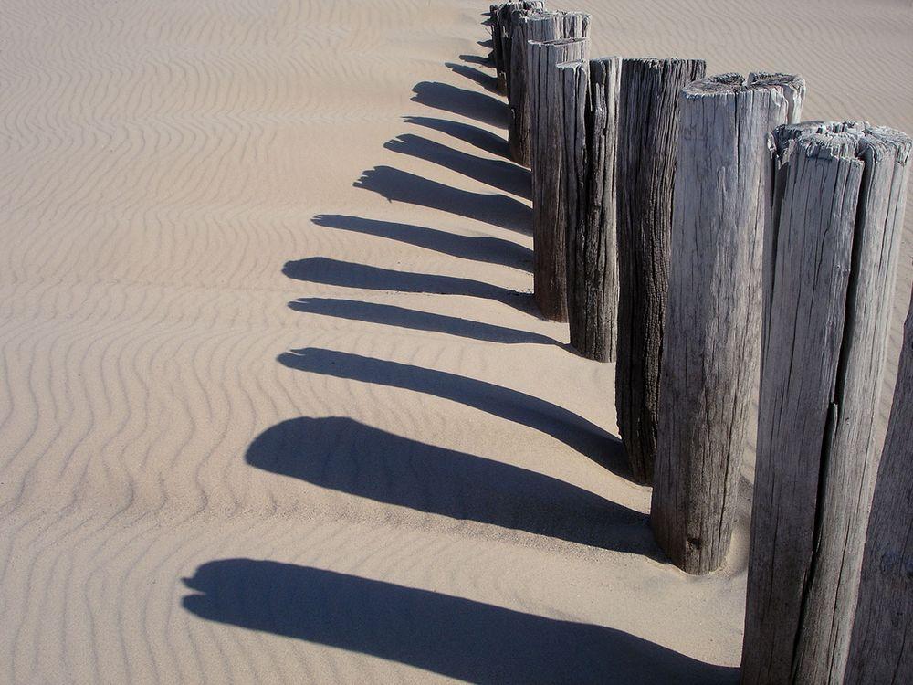 ... Buhnen-Schatten ...