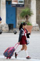Buisy Schoolgirl Plaza Vieja