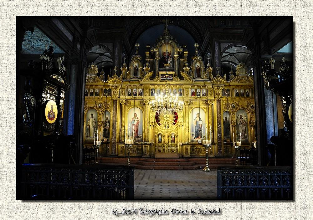 Bulgarische Kirche in Istanbul