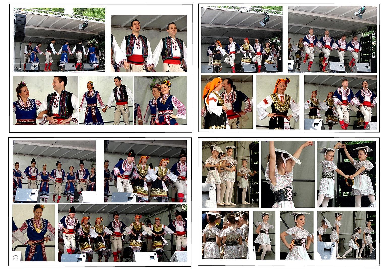 Bulgarische Tanzgruppen