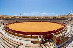 Bull fighting stadium in Seville