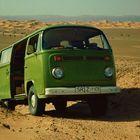 Bulli-Dünentripp in der Algerischen Sahara
