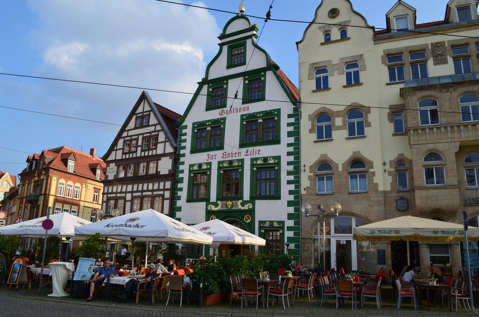 Bundes Erfurt am Domplatz