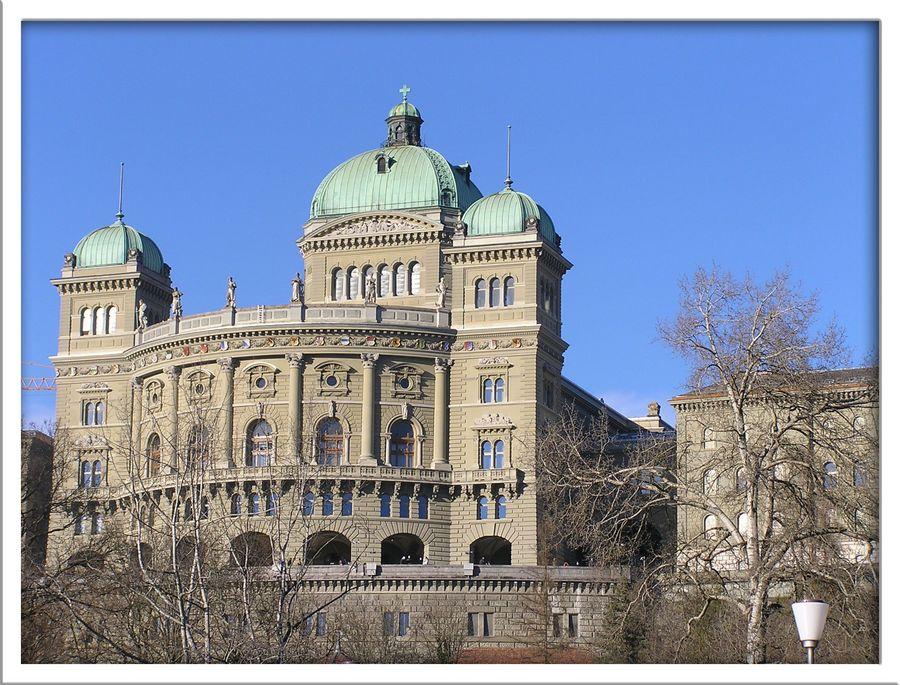 Bundeshaus Bern, Schweiz
