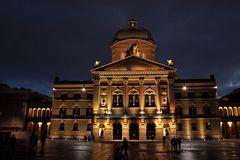 Bundeshaus by Night