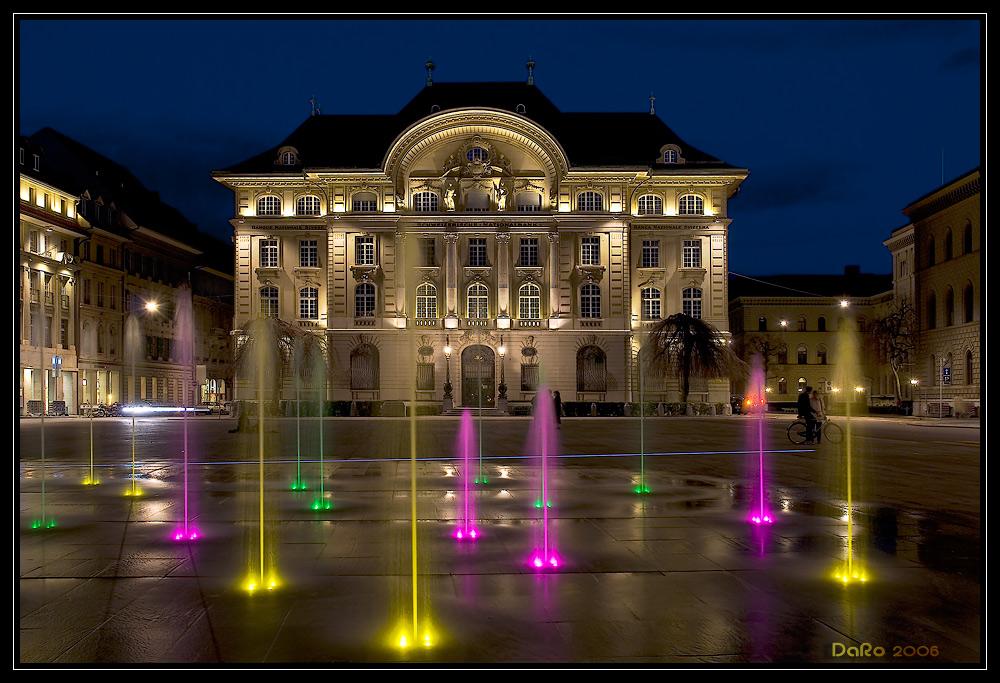 Bundesplatz colored