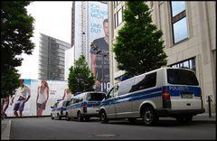 Bundespolizei am Ritz