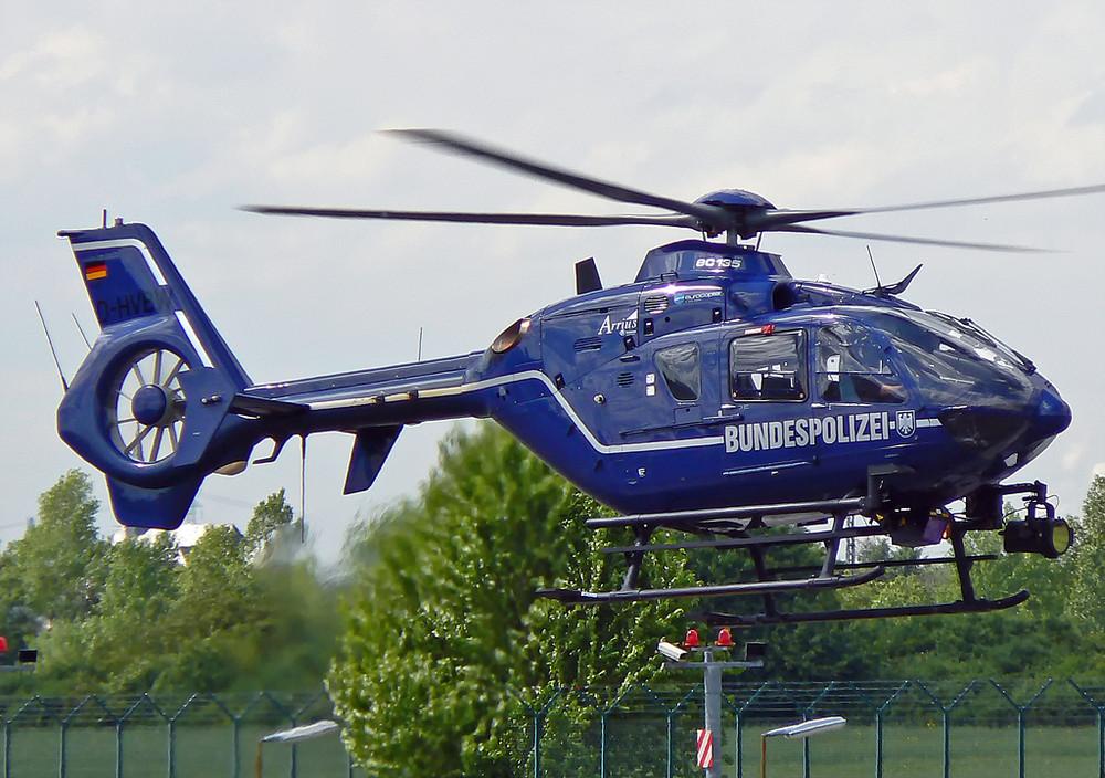 Bundespolizei Eurocopter EC-135 T2 D-HVBW