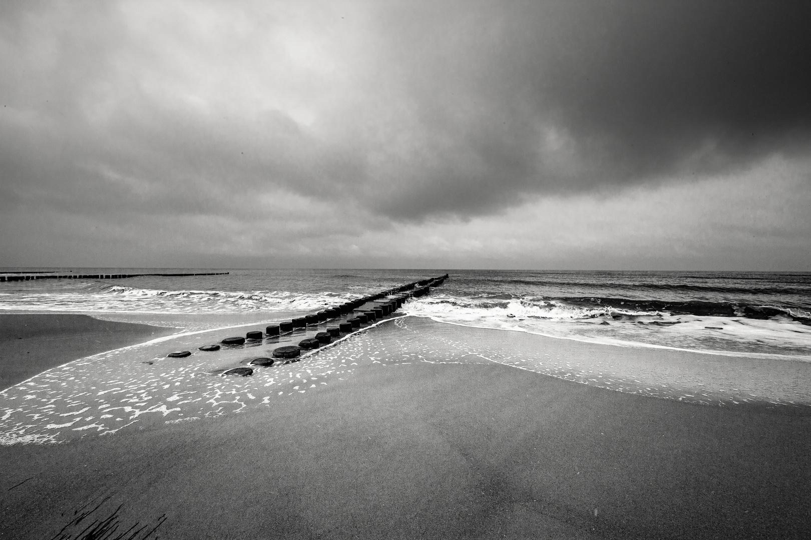 Bunen an der Ostsee