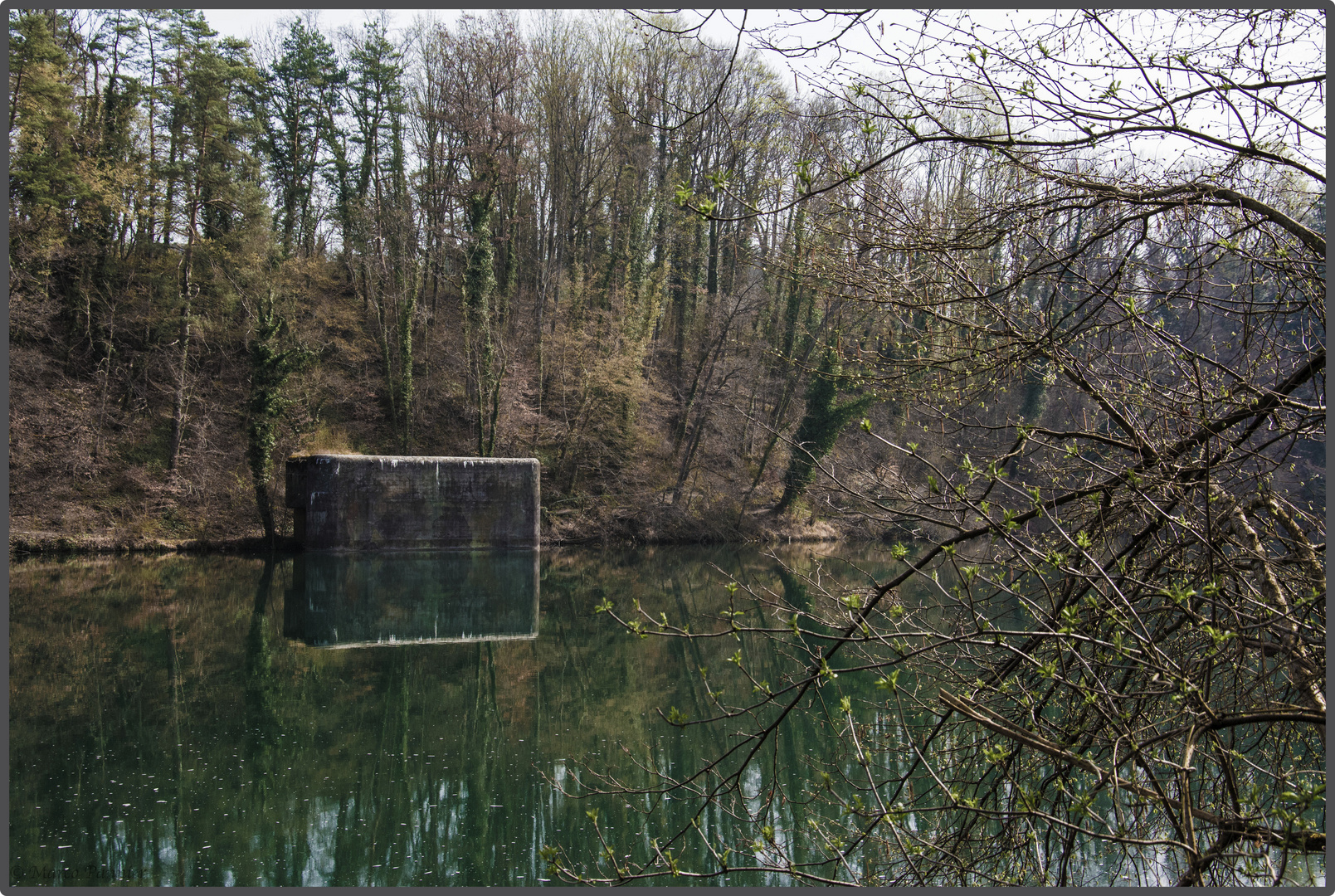 Bunker am Rhein