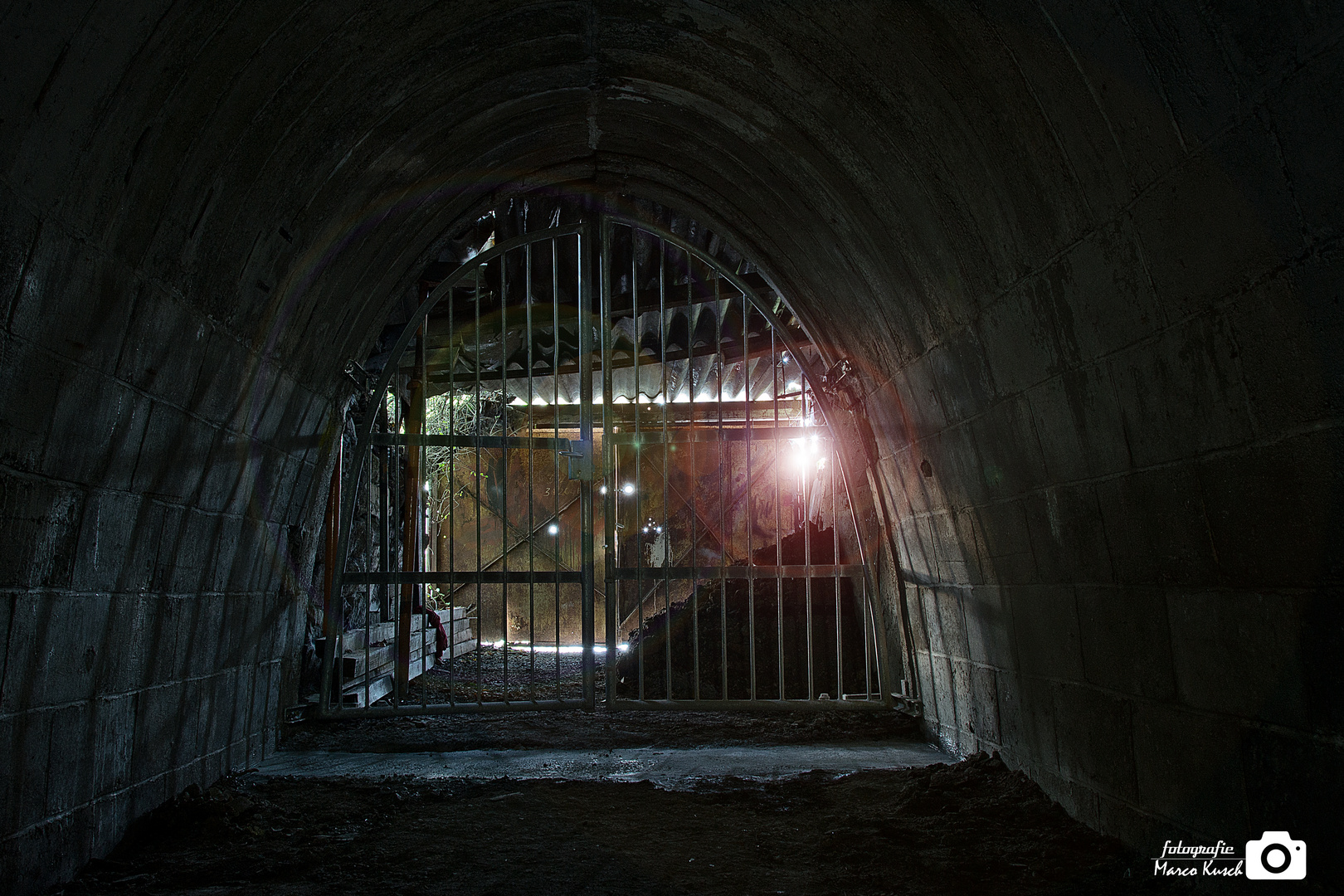 Bunker Stollen 2 Ausgang