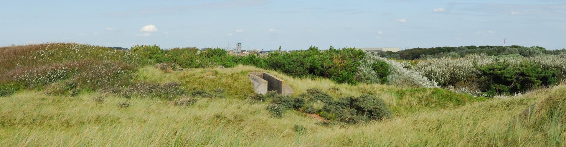 Bunkeranlage Bj. ca. 1911 bei Oostende-Belgien Atlantikwall 5