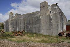 Bunkerbau WK II Tirpitzstellung