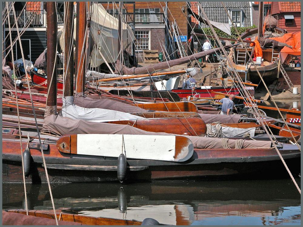 Bunschoten-harbour